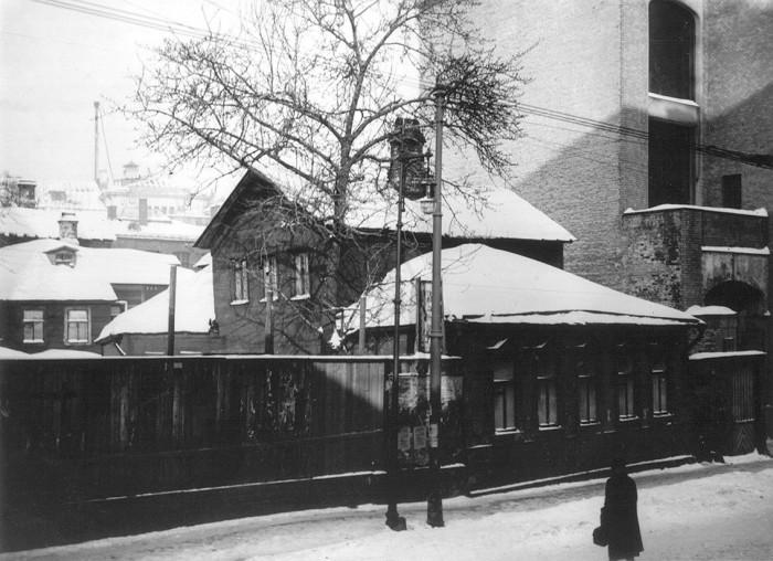 Большой Путинковский переулок. СССР, Москва, 1920-е годы.