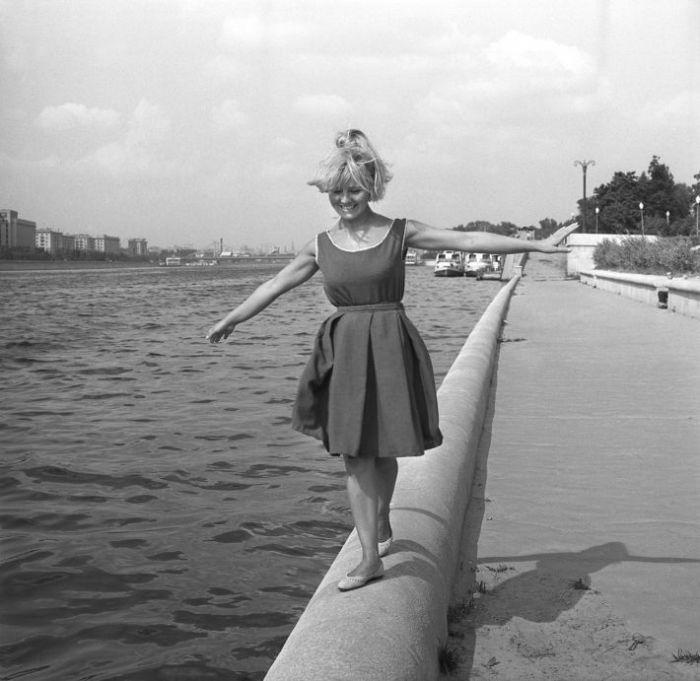 Актриса Светлана Савелова в 1970-е годы.