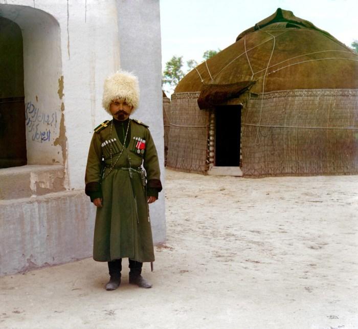 Джигит Ибрагим. Туркменистан, Байрам-Али, 1911 год.