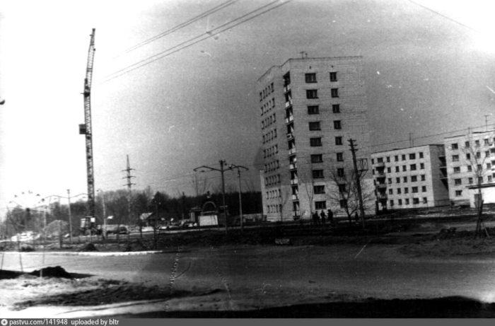 Шоссе Нариманова и Парк Победы в 1960-е годы.