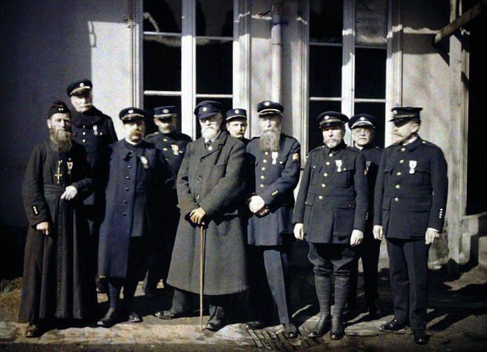 Представители международного движения Красного Креста на Западном фронте в 1917 году.