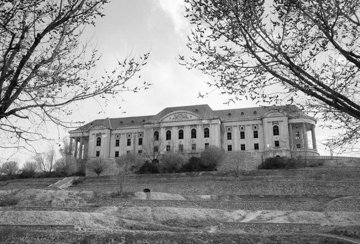 Дворец Амануллы-хана в Кабуле, 8 октября 1949 года.