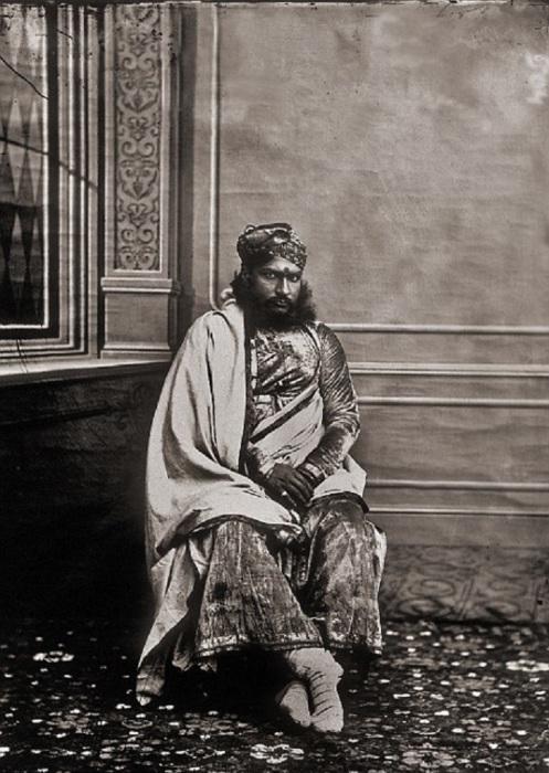 Министр махараджи. Джайпур, примерно 1857 год.