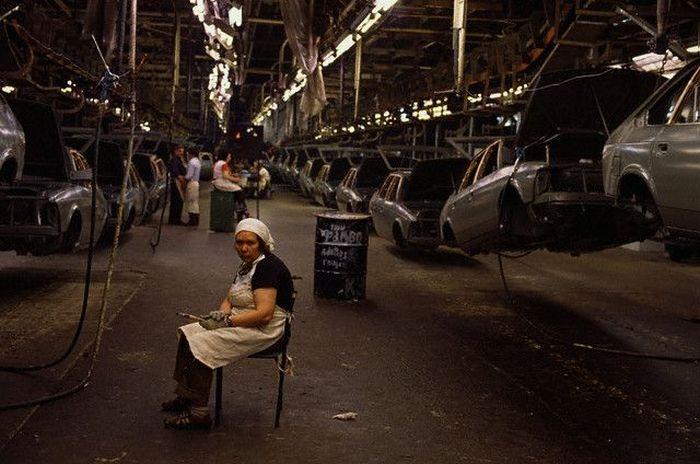 В 1980-х годах советская автомобильная промышленность достигла успехов в массовом производстве.