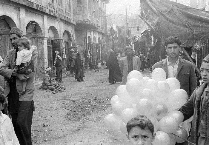 Базар в Кабуле, 31 декабря 1969 года.