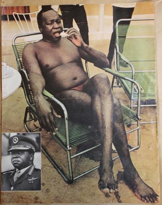 Иди Амин – это одно из самых громких имен в истории Уганды, под которым с 1971 до 1979 года значился ее президент и основатель жесточайшего тоталитарного режима. Иди Амин, диктатор Уганды, 1972 год.