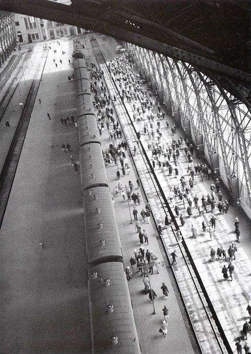 Киевский вокзал в 1936 году.