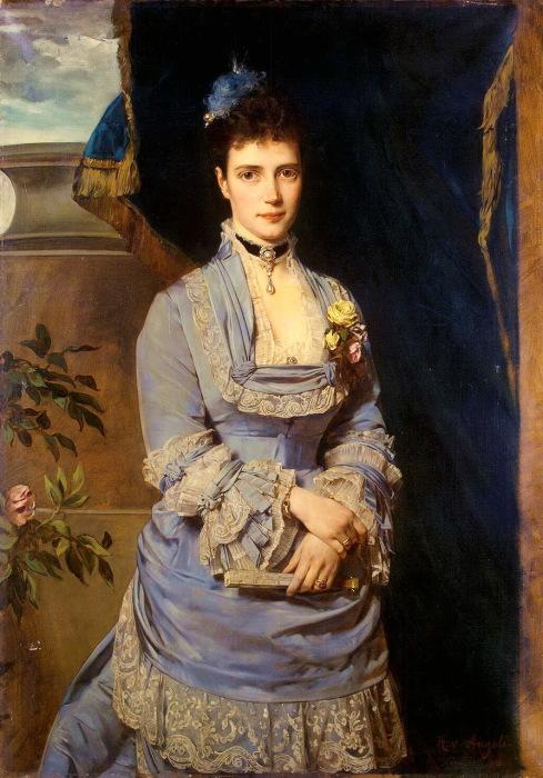 Портрет великой княгини Марии Федоровны.