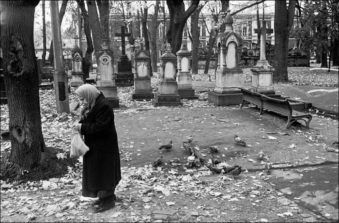 Донской монастырь в 1989 году.