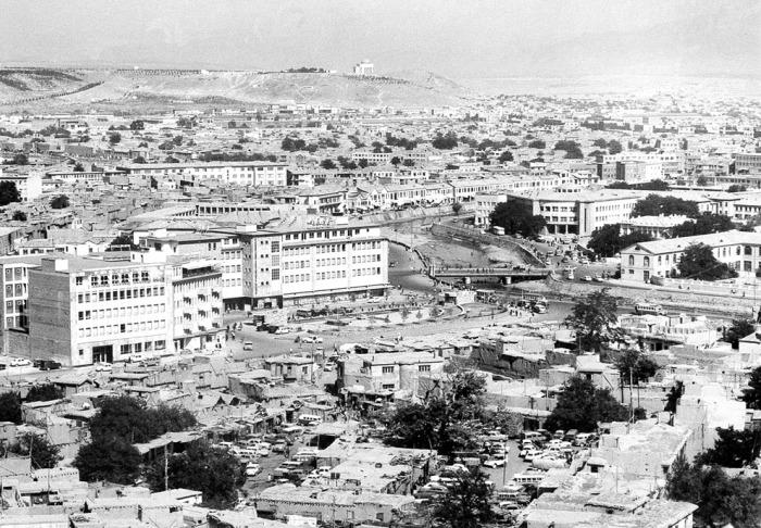 Панорама Кабула в августе 1969 года.