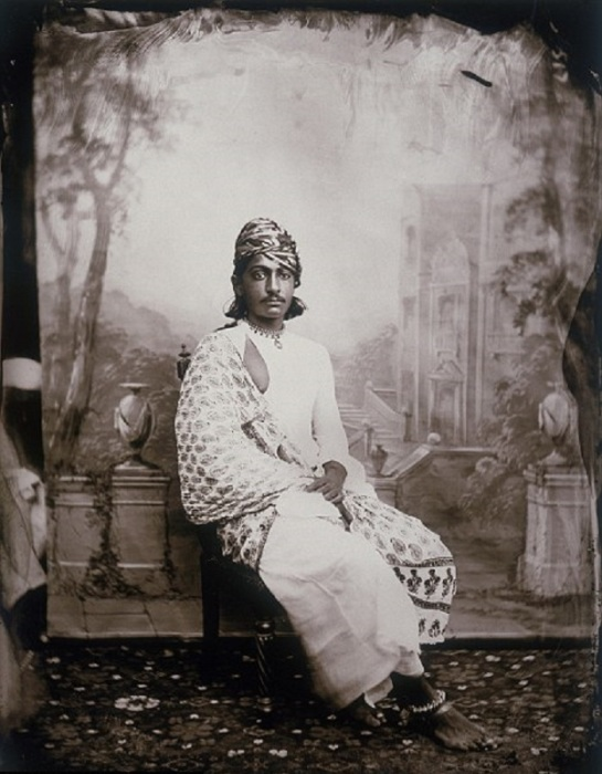 Портрет принца. Джайпур, примерно 1857 год.