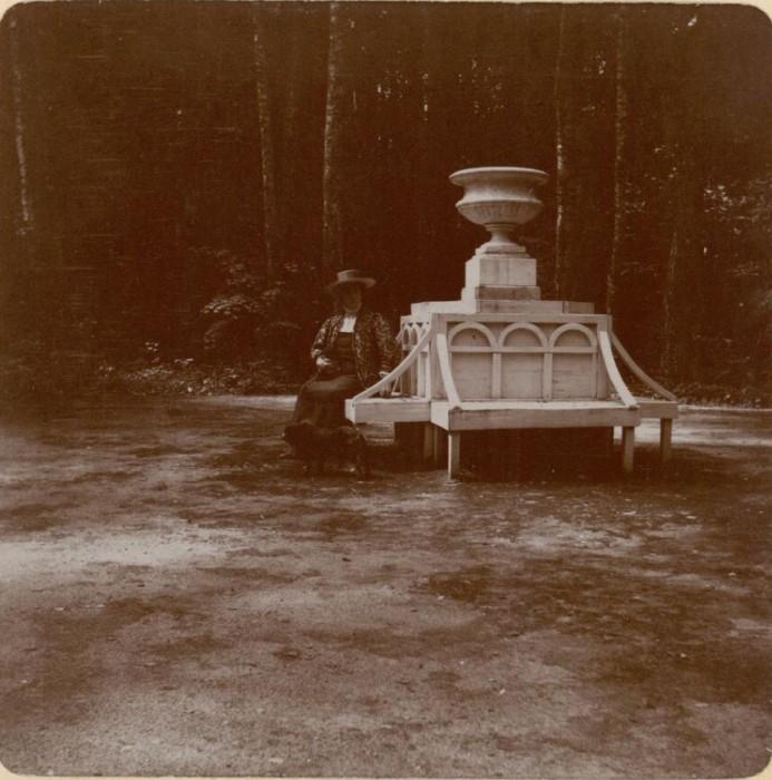 Парк княгини Тенишевой. Россия, село Талашкино, 1909 год.