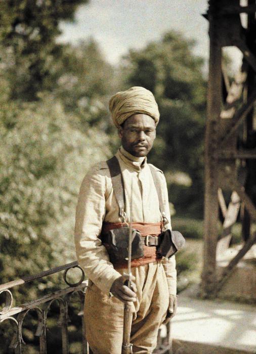 Солдат Алжирской Народной Демократической Республики в 1917 году.