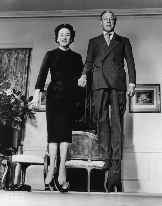 Герцог и герцогиня Виндзор.
