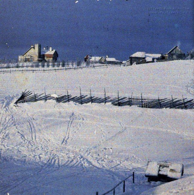 Ваммельсу, зима 1910 года.