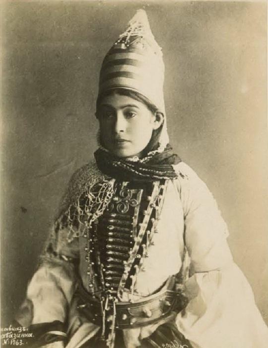 Портрет абазинка. Кавказ, последняя четверть XIX века.