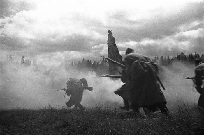 Восточный фронт в 1941 году.