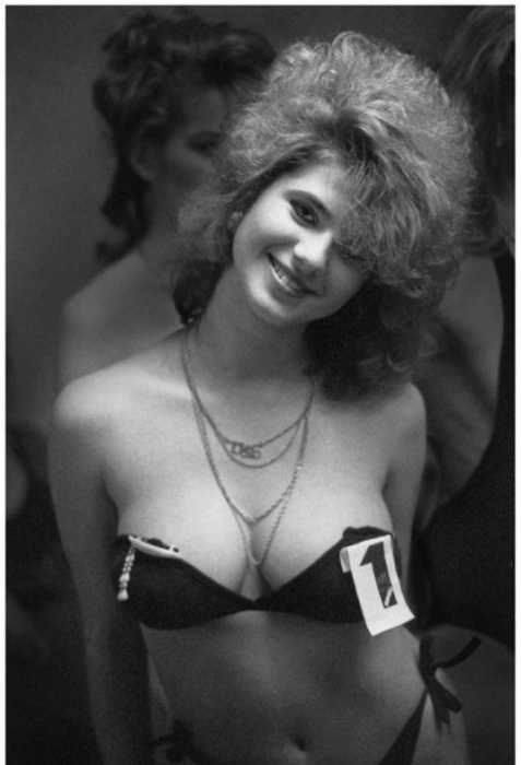 Первый конкурс красоты в СССР в 1980-е годы.