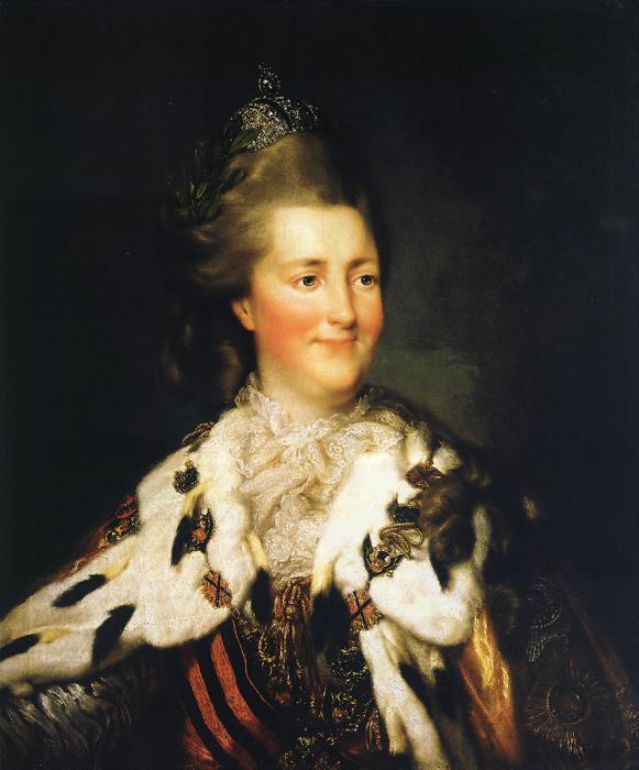 Портрет Екатерины II.