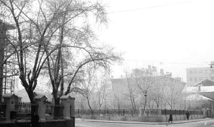 Малая Никитская. СССР, Москва, 1962 год.
