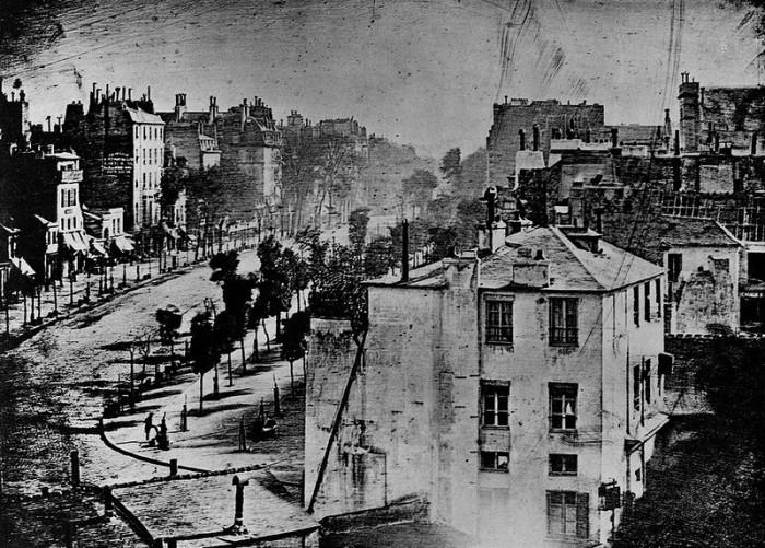 Уникальная коллекция старинных фотографий, сделанных в 1830-х - 1840-х годах.