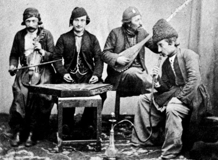 Цыгане. 1865 год.