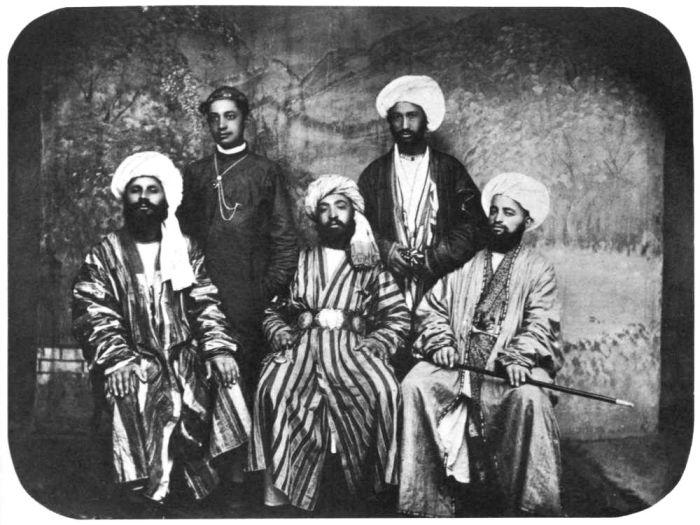Знатные туркмены в Мерве. Мерва, около 1890 года.