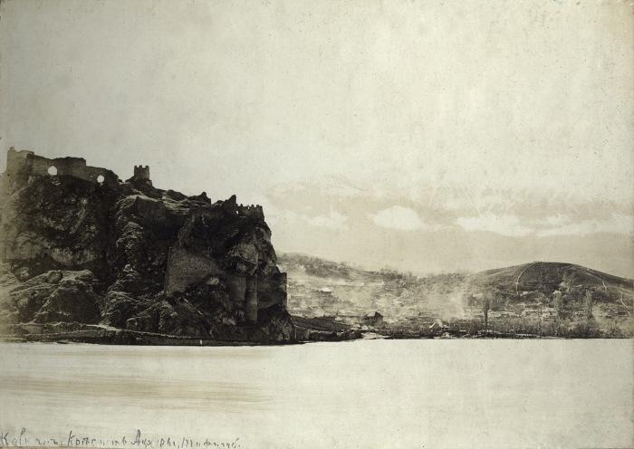 Крепость Ацхур в Тифлисской губернии. Кавказ, 1897 году.