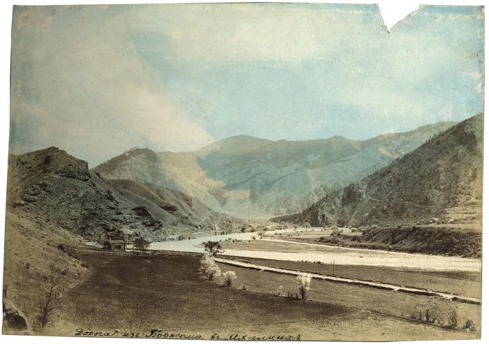 Дорога из Боржома в Ахалцих в 1897 году.