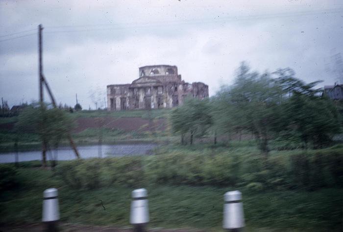 Усадьба Александрино на Петергофской дороге. СССР, Ленинград, 1959 год.