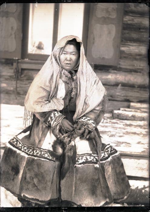 Остячка. Ларьяк, 1912 год.