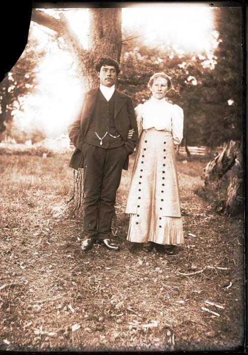 Сургутяне, переселившиеся в село. Ханты-Мансийский автономный округ, Нижневартовский район, село Ларьяк, 1912 год.