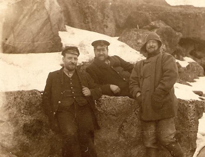 Томас Паркер со своими друзьями и коллегами. Россия, 1915 год.