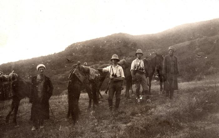 Экспедиция Огнева в июле 1923 года.