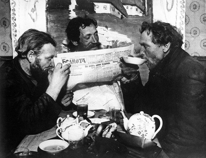 Чаепитие в Раменском. 1926 года.
