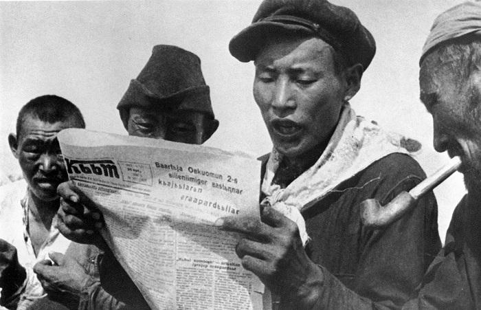 Советская газета напечатанная на родном языке. Якутия, 1929 год.