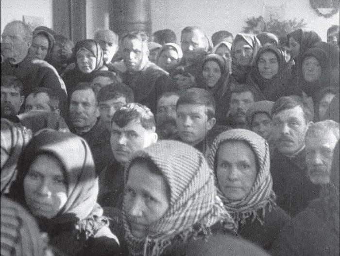 Суд над перегибщиками. Винницкая область, село Якушинци, 1931 год.