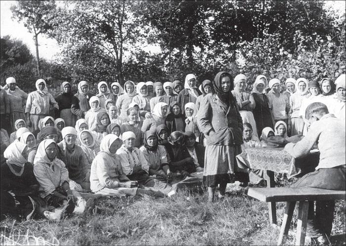 Товарищеский суд. Киевская область, 1934 - 1935 год.