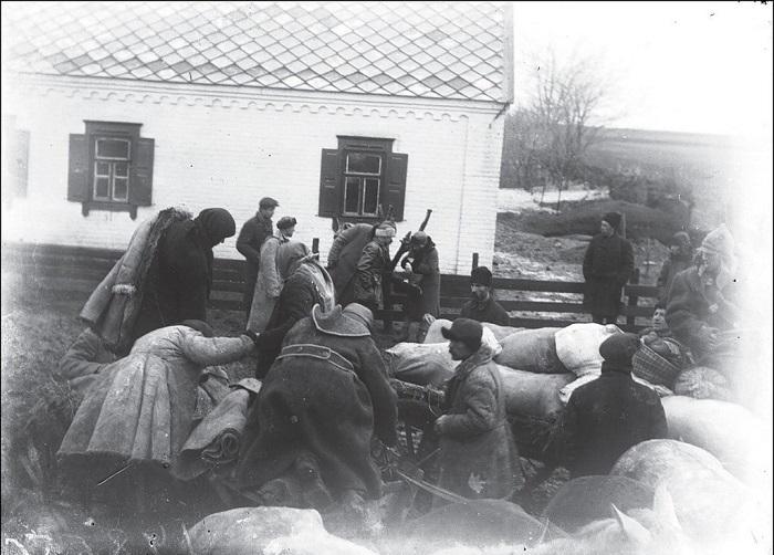 Донецкой область, село Удачное, 1934 год.