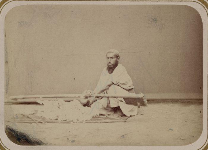 Очистка вата. Средняя Азия, конец XIX века.