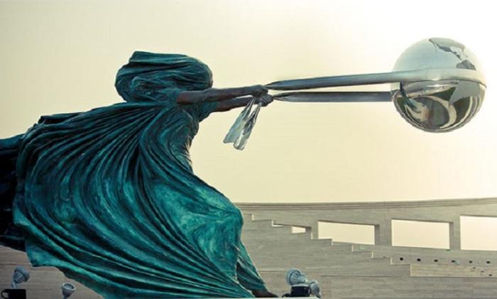 Знаменитая скульптура Лоренцо Квинни.