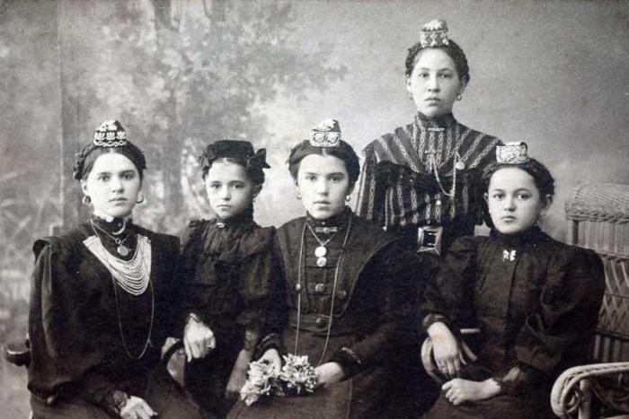 Татары. Город Кунгур Пермской губернии, начало XX века