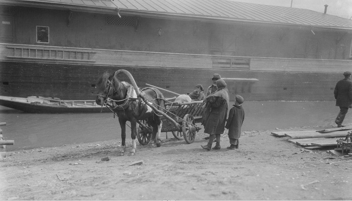 Повозка. СССР, Нижний Новгород, 1931 год.