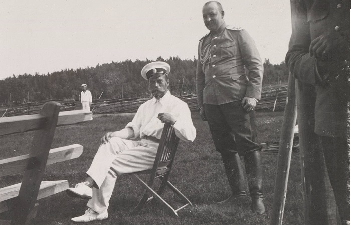 Ретро фотографии царской семьи из фотоальбома Анны Вырубовой.