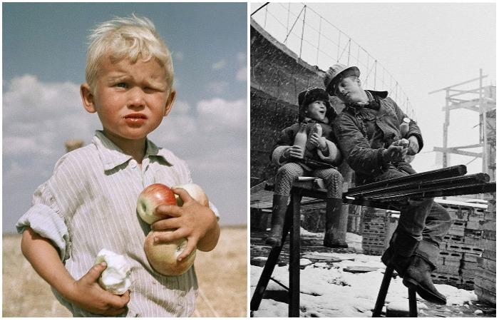Советские люди на фотографиях легендарного фотографа Юрия Абрамочкина.