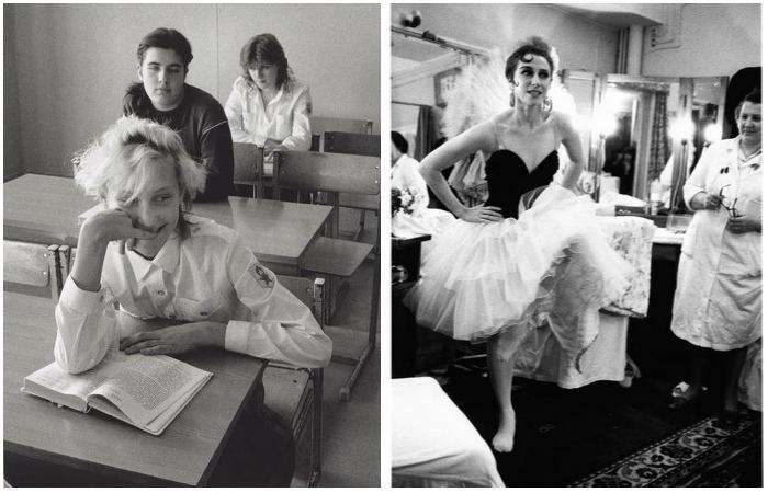 Случайные прохожие и портреты знаменитостей в объективе мастера фотографии Инге Мората.