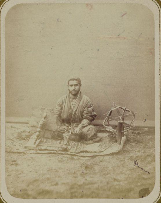 Мотовило для размотки пряжи. Ташкентский способ. Средняя Азия, конец XIX века.