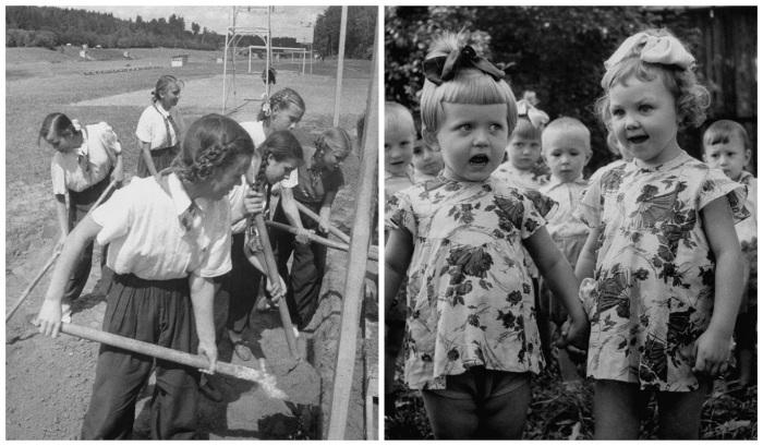 Фотографии из повседневной жизни москвичей.