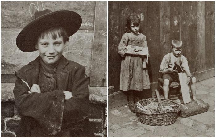 Нелёгкая жизнь беспризорников. Автор фото: Horace Warner.