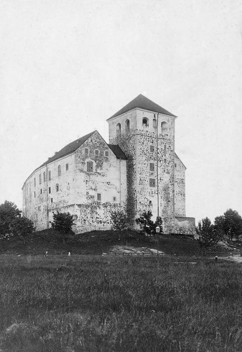 Старый замок в Турку. Финляндия, 1890 год.